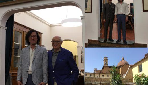 ◆フィレンツェ仕立て巨匠リベラーノ氏に再会まであと5日!◆