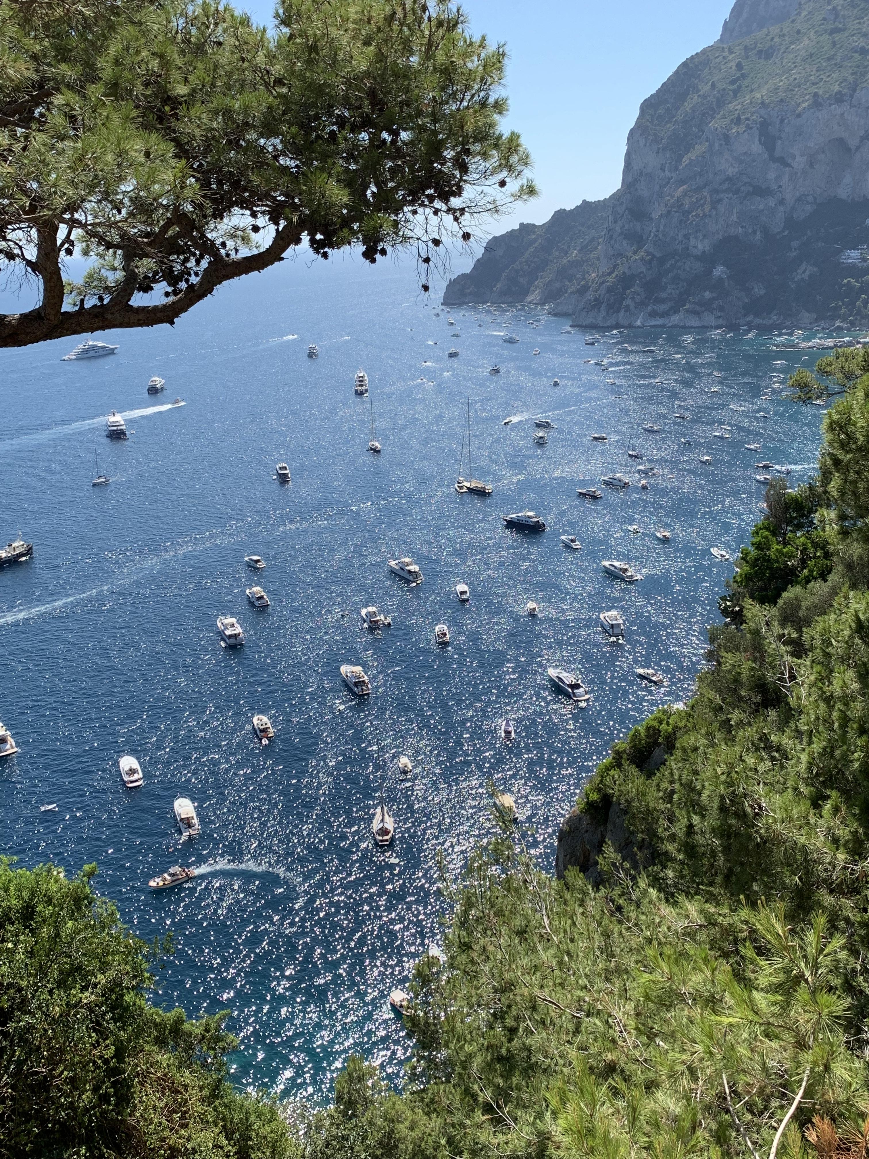 ◆今日はカプリ島からブォンジョルノ!◆