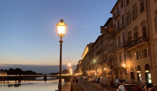◆夏のフィレンツェは正統派ベージュ色スーツで◆
