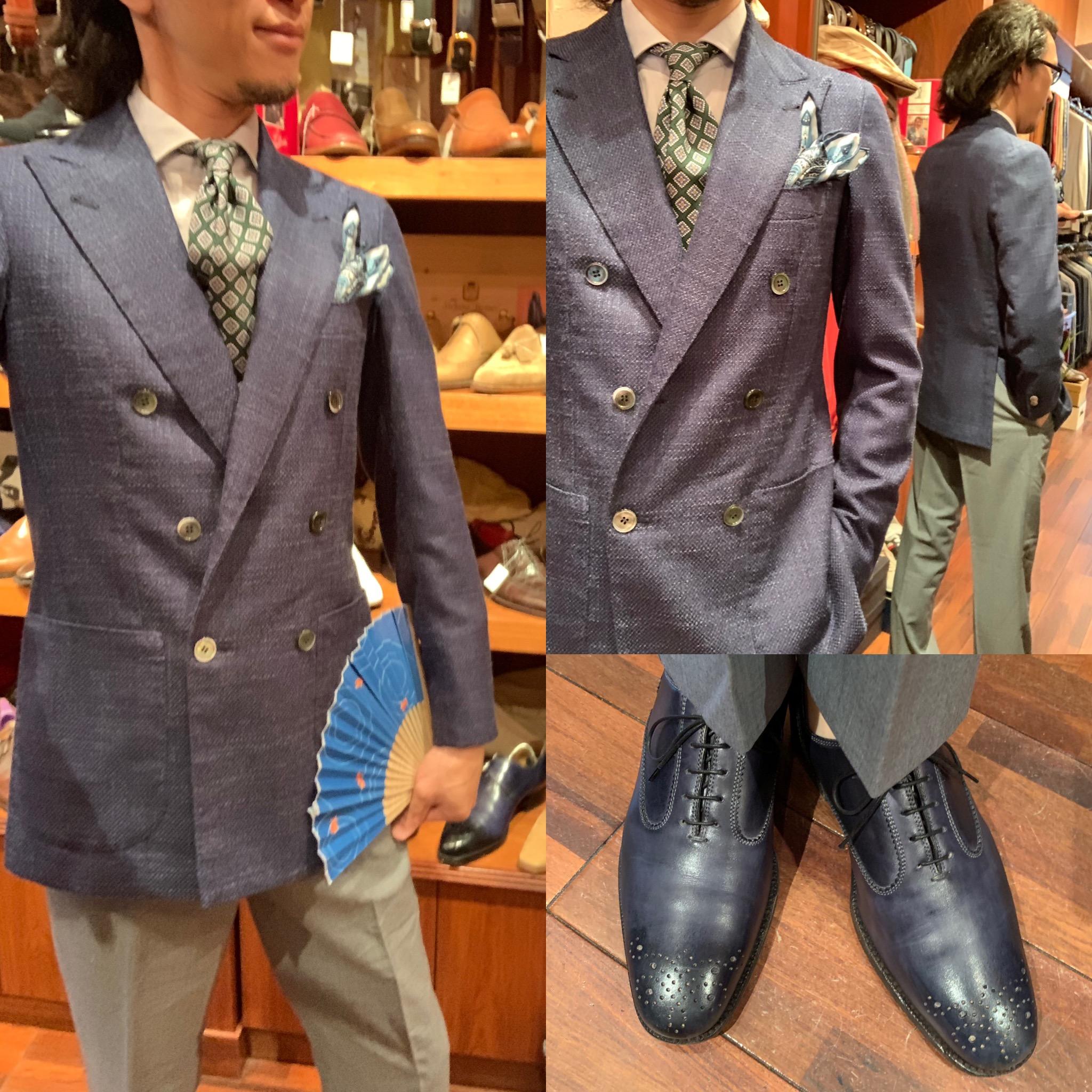◆神の手による紳士服を纏える悦びを体感できるのは中部地区で当店だけです◆