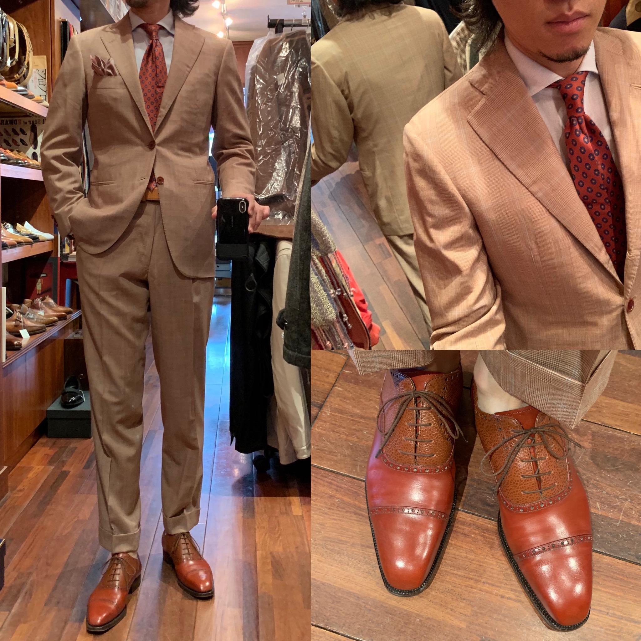 ◆スーツは背中にこそ品質の違いが顕著に出るんです◆