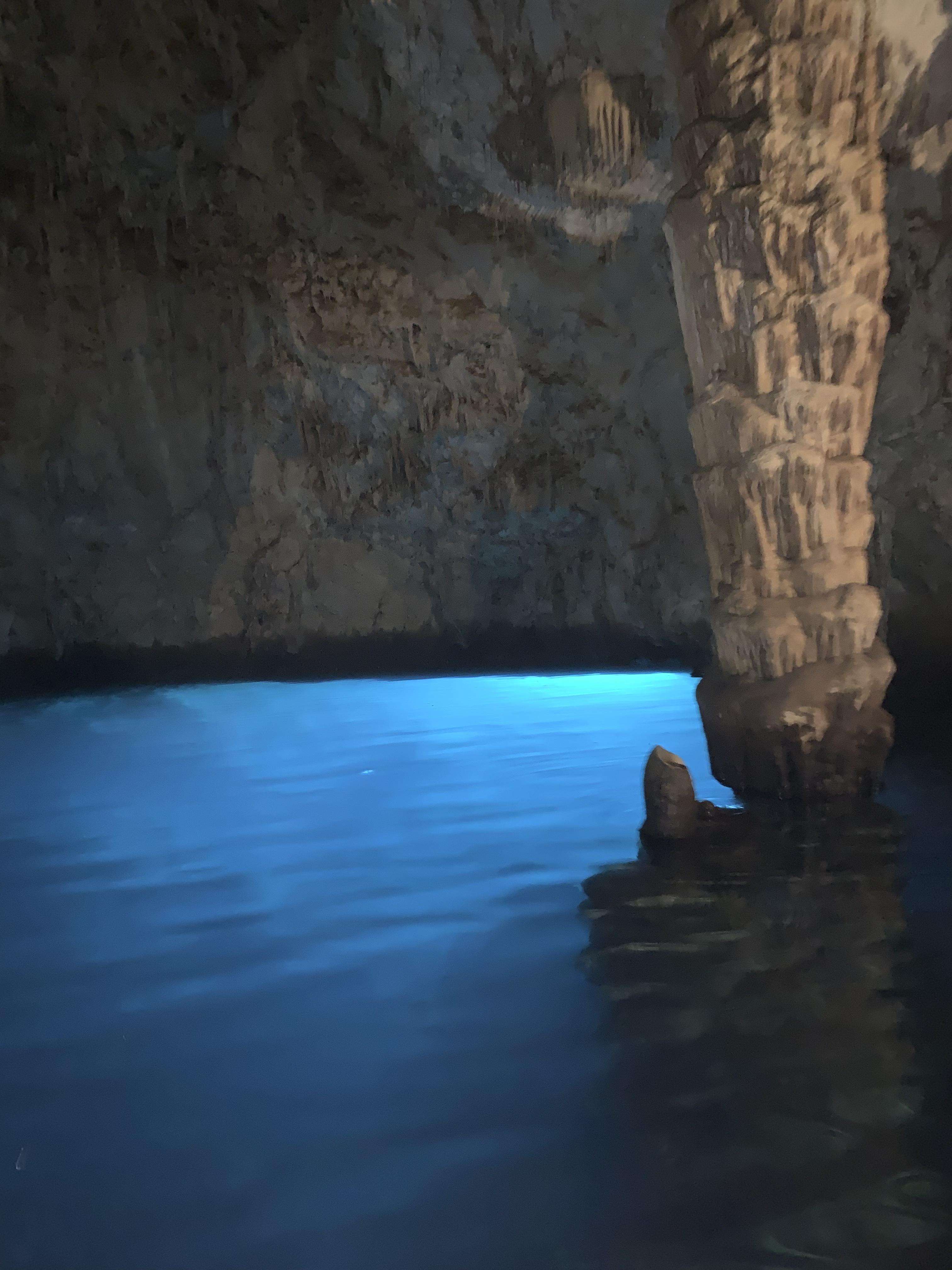 ◆アズーロ青色ジャケパンでエメラルドの洞窟へGO◆