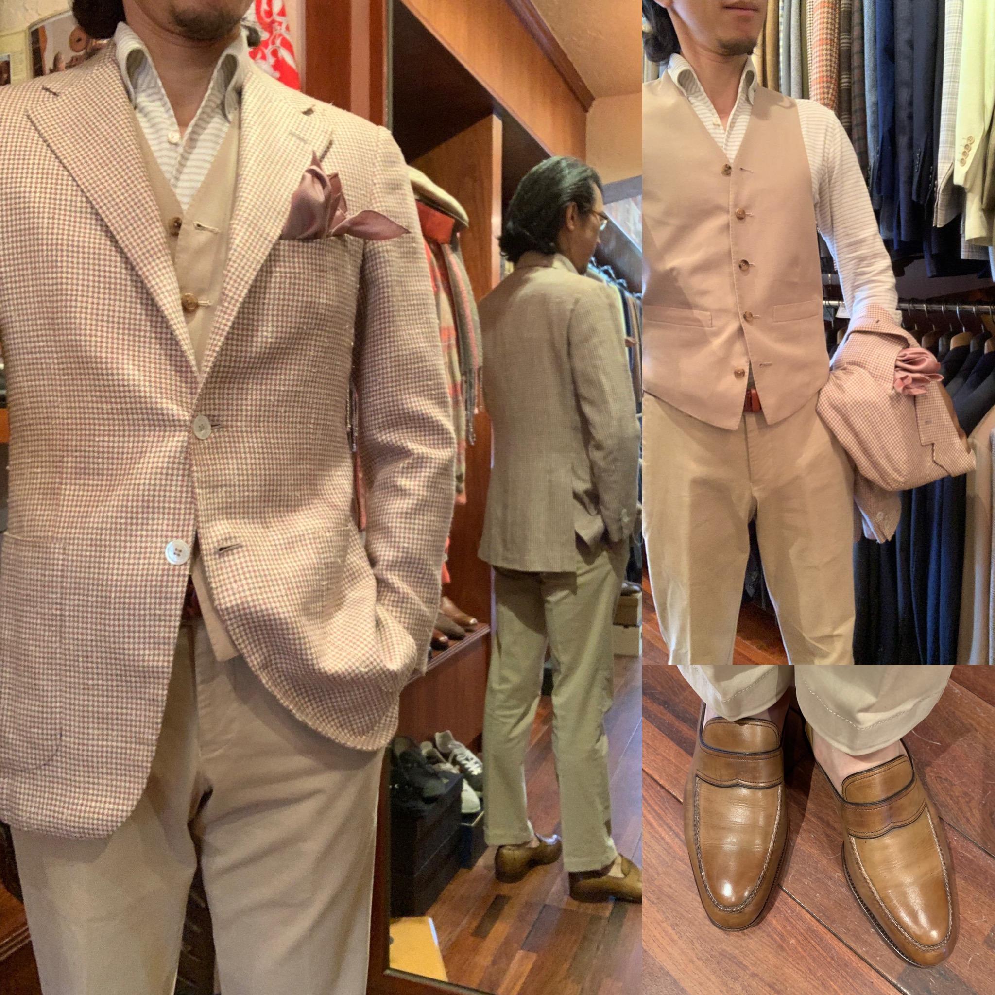 ◆ベージュ色にトライして上品な紳士スタイルを演出しよう◆