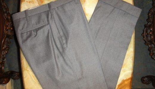 【アンティコパンタローネ Antico Pantalone】合い物 ミディアムグレーパンツ 48