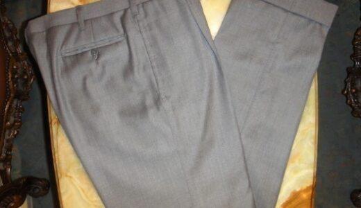 【アンティコパンタローネ Antico Pantalone】春夏 ミディアムグレーパンツ 50