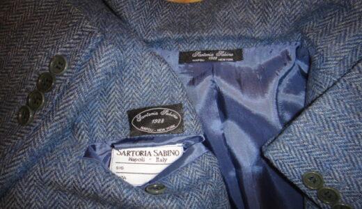 正統な紳士服を嗜むvol.46〜ナポリ仕立て五傑サビーノ