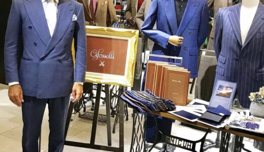正統な紳士服を嗜むvol.65〜イタリア生まれフランス育ちの最高峰サルト〜チフォネリ