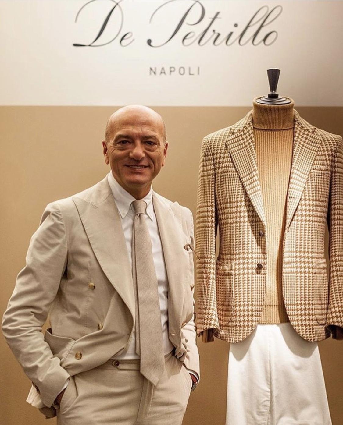 正統な紳士服を嗜むvol.69〜モダンナポリ仕立てデ・ペトリロ