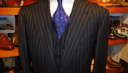 正統な紳士服を嗜むvol.64〜ナポリ仕立てmixのローマStyle チェレンターノ