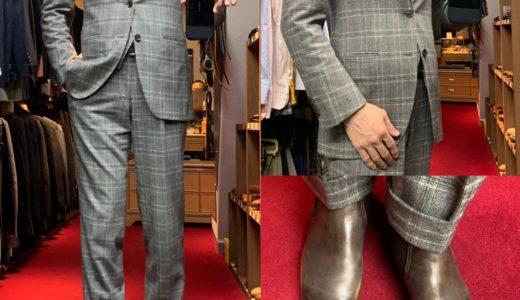 ◆出張時の機動的な上品スーツスタイル◆