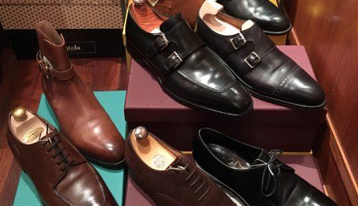 ◆2019新年初日に圧巻の英国靴 新着情報!◆