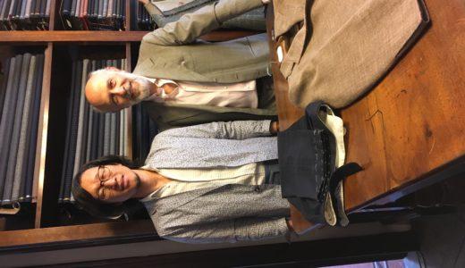 ◆日本のスーツ界に影響大なフィレンツェの職人◆