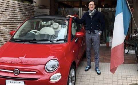 ◆FIAT500と伊達おやじの休日ドライブスタイル◆